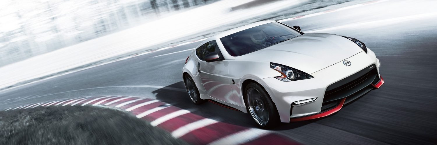 370Z NISMO on racetrack