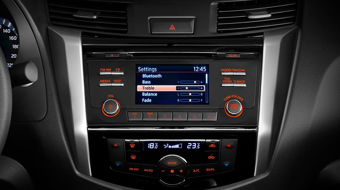 Nissan NP300 Frontier - Bluetooth®